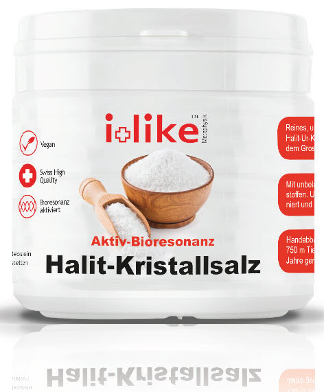 Halit-Kristallsalz