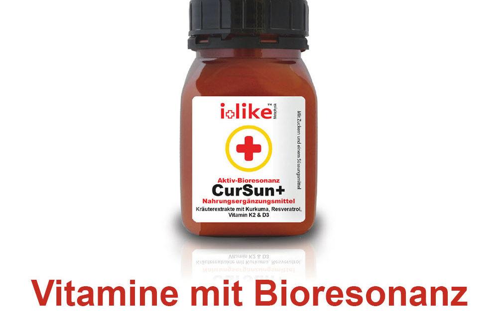 Vitamine mit Bioresonanz